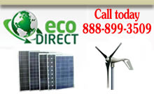 EcoDirect, Solar Panels, Wind Turbines