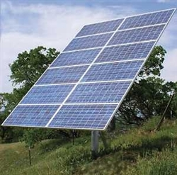 Ameresco >Top of Pole Mount for 6 Solar Panels - Size G