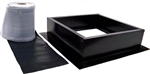 Attic Breeze AB-004-BLK > Roof Curb Installation Kit, Black