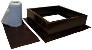Attic Breeze AB-004-BRN > Roof Curb Installation Kit, Brown