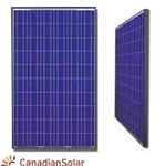 Canadian Solar - 260 Watt Black Frame Solar Panel - CS6P-260P-BLK