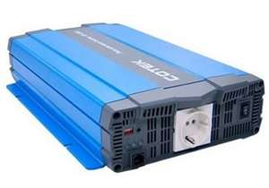 Cotek SP 1500-248 > 1500 Watt 48VDC, 230VAC Pure Sine Wave Inverter - Schuko Outlet