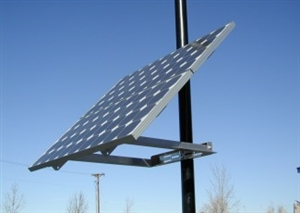 DPW Solar DPW-SPM2-G > Side of Pole Mount for 2 Solar Panels - Size G