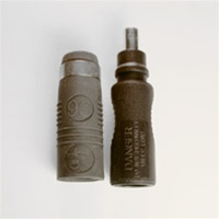 EcoCable Solar PV Cable Huber & Suhner Radox C6 Connector - Male