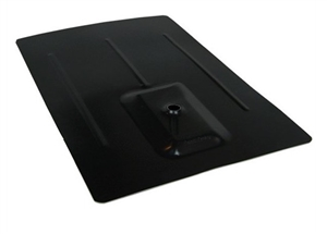 EcoFasten QFL-BLK-812 > BLACK QuickFoot 8 INCH x 12 IN Flashing