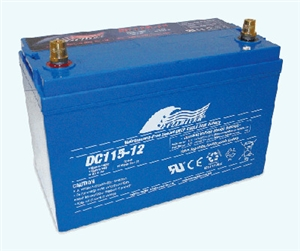 Fullriver 12 Volt 115 Amp Hour AGM Battery - DC115-12