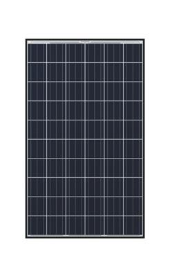 Hanwha Q Cells 260 Watt Poly Solar Panel Black Frame Q