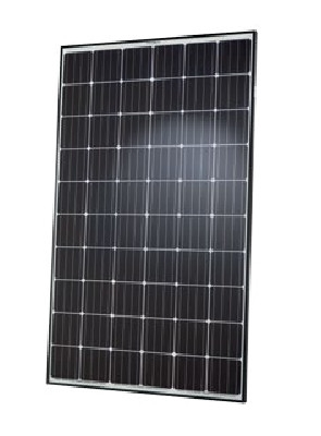 Hanwha Q Cells 300 Watt Mono Solar Panel Black Frame Q