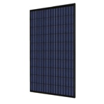 Hyundai HiS-S255MG-BL - 255 Watt Black Solar Panel