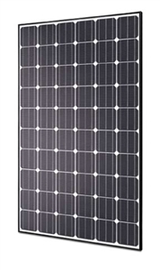 Hyundai HiS-S290RG > 290 Watt Mono Solar Panel - Black Frame