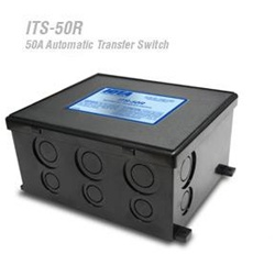 Iota ITS-50R - 50 Amp Automatic AC Transfer Switch