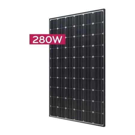 Lg Solar Lg280n1c 280 Watt Black Frame Solar Panel