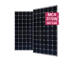 LG Solar LG315N1C-G4 > 315 Watt Black Frame NeON2 Solar Panel - Cello technology