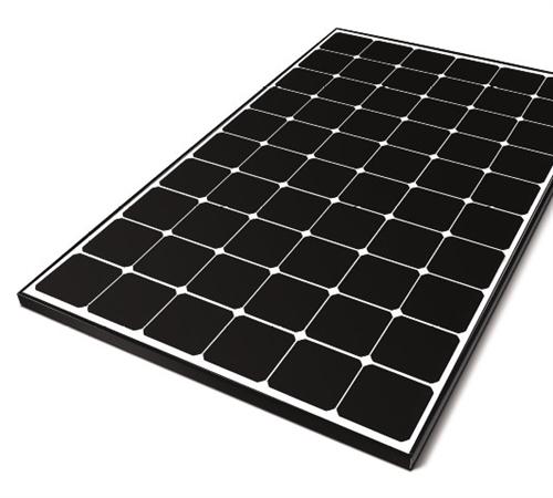 Lg Solar 350 Watt Black Frame Neon R Solar Panel Cello