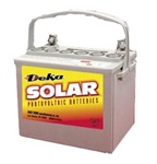 MK Battery 8GU1H-DEKA - 12 Volt 31.6 Amp Hour Sealed Gel Battery