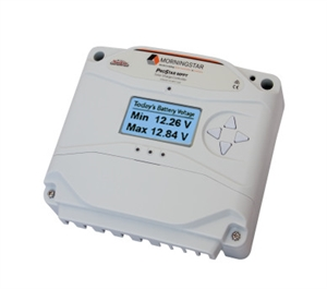 Morningstar ProStar PS-MPPT-25M > 25 Amp 12/24 Volt MPPT Charge Controller > with Digital Meter