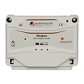 Morningstar Prostar PS 15 2 morningstar ps 15 prostar 15 amp 12 24 volt pwm charge controller  at crackthecode.co