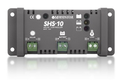 Morningstar SHS-10 - 10 Amp 12 Volt PWM Charge Controller - International