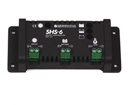 Morningstar 6 Amp 12 Volt PWM Charge Controller -  International - SHS-6