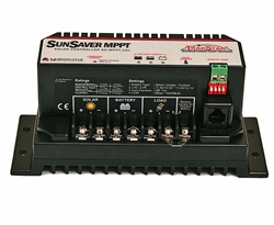 Morningstar SunSaver 15 Amp 12/24 Volt MPPT Charge Controller - Includes LVD Override Protection - SS-MPPT 15L