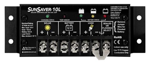 Morningstar Sunsaver 10 Amp 12 Volt Pwm Charge Controller