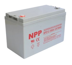 NPPower NPD12-100Ah > 12 Volt 65 Amp Hour AGM Battery