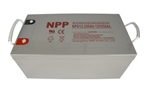 NPPower NPD12-250Ah > 12 Volt 162 Amp Hour AGM Battery