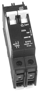 OutBack Power DIN-60D-AC-480 - 60 Amp 277 / 480 VAC Dual Pole DIN Mount Breaker