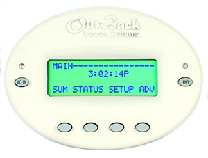 Outback Remote Monitor and Control - Surface mount with RS232 - MATE