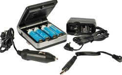 PowerFilm 12 Volt Battery Charger Pack for AA and AAA, RA-3C