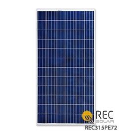 Rec Solar 315 Watt Solar Panel 72 Cell Rec315pe72
