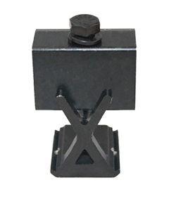 "SnapNrack - 1.49 - 2.00"" Adjustable Bonding X-End Clamp - Black Finish - 242-02068"