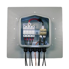 SolaDeck SD-0786-41 - Flashed Solar DC Combiner
