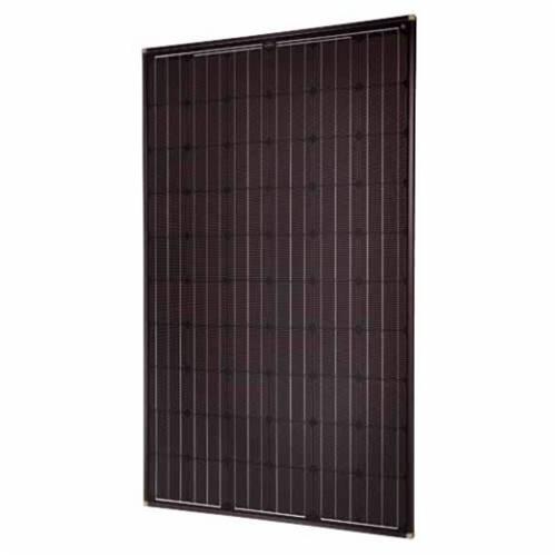 solarworld sw 265 mono 2 5 frame black 265 watt black. Black Bedroom Furniture Sets. Home Design Ideas
