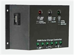 Solarland USA SLC-NR1012UL > NR Series 10 Amp 12 Volt PWM Charge Controller with USB Charger