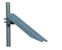 Solartech RAC-M-455-B Single arm side of pole mount for 40, 45, 50, 55 watt panels