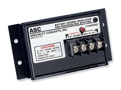 Specialty Concepts 12 Amp 12 Volt PWM Charge Controller - Includes LVD - ASC-12/16-E