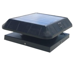 Sunrise 15 Watt Solar Attic Fan - Curb Mount - CB1050