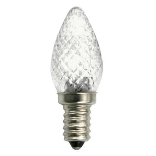 tcp lc7wh50k - 1 watt c7 candelabra led light