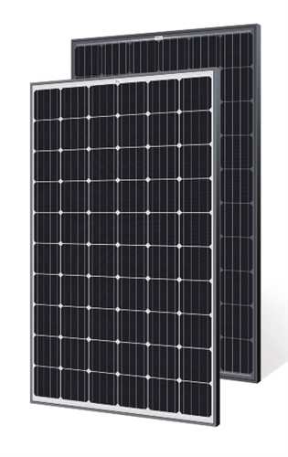Trina Solar 280 Watt Black Frame Solar Panel Bob Tsm
