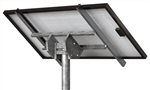 "Tamarack Solar STP-SCR/045 > Top of Pole Mount for One Solar Panel - Hole Space < 48"" - Landscape"