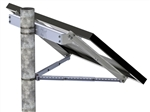 Tamarack Solar UNI-SP/01XH > Side of Pole Mount for One 27 Inch Solar Panel - Lower Knee Brace