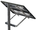 Tamarack Solar UNI-SP/02 > Side of Pole Mount for Two 45 Inch Solar Panels