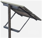 Tamarack Solar UNI-SP/02X > Side of Pole Mount for Two 55 Inch Solar Panels