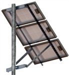 Tamarack Solar UNI-SP/03 > Side of Pole Mount for Three 70 Inch Solar Panels