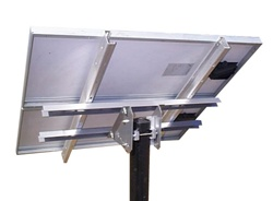 Tamarack Solar UNI-TP/02 > Top of Pole Mount for Two 45 Inch Solar Panels