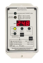 Bogart Engineering TriMetric 2025 12/24/48 Volt Battery System Monitor - RV Version - TM-2025-RV