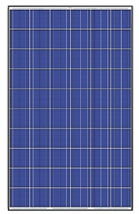 Trina Solar TSM-255PD05 > 255 Watt Solar Panel - Black Frame