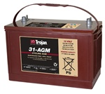 Trojan Battery 31-AGM - 12 Volt 110 Amp Hour AGM Deep Cycle Battery