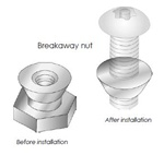 "UniRac 030002C - 3/8"" Breakaway Nut - 20 Units"